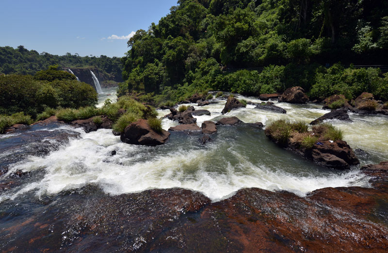 Бразилия. Водопады Игуасу. Brasil. Iguacu Waterfalls. 115