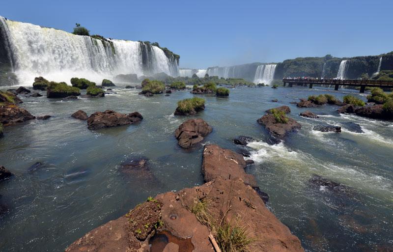 Бразилия. Водопады Игуасу. Brasil. Iguacu Falls. 117