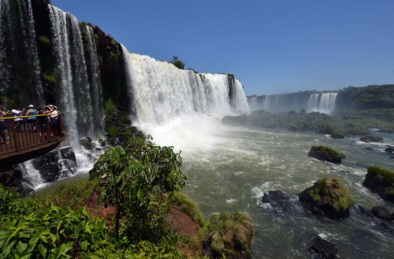 Бразилия. Водопады Игуасу. Brasil. Iguacu Falls. 116