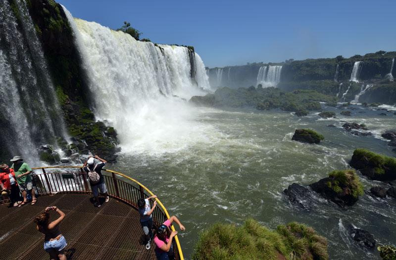 Бразилия. Водопады Игуасу. Brasil. Iguacu Waterfalls. 118
