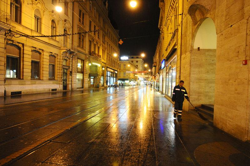 Ночной Загреб. Night Zagreb. 90