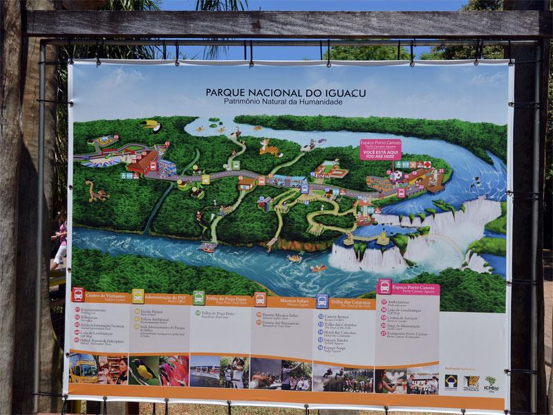 Бразилия. Водопады Игуасу. Brasil. Iguacu Falls. 120