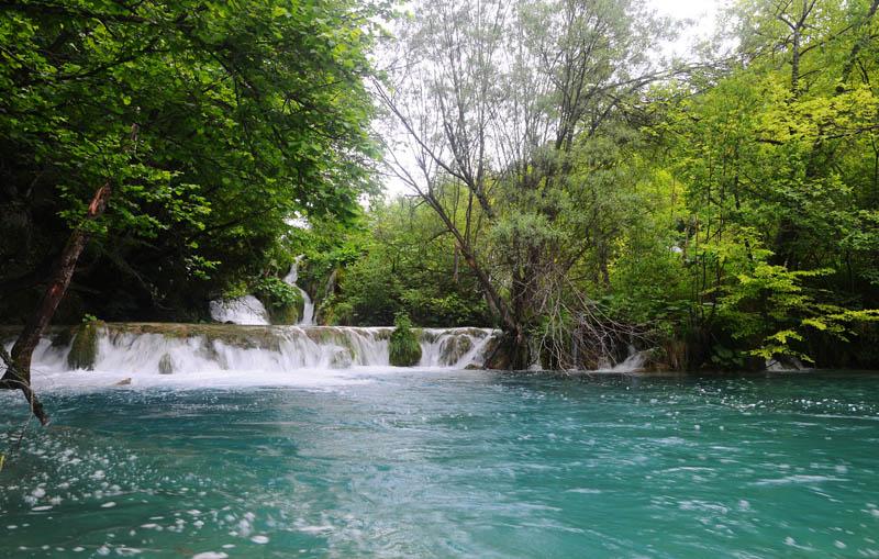 Хорватия. Плитвицкие озера. Croatia. Plitvice. 40.