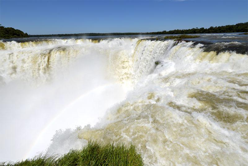 Водопады Игуасу. Глотка Дьявола. Аргентина. Iguacu Falls. Garganta del Diablo. Argentina.