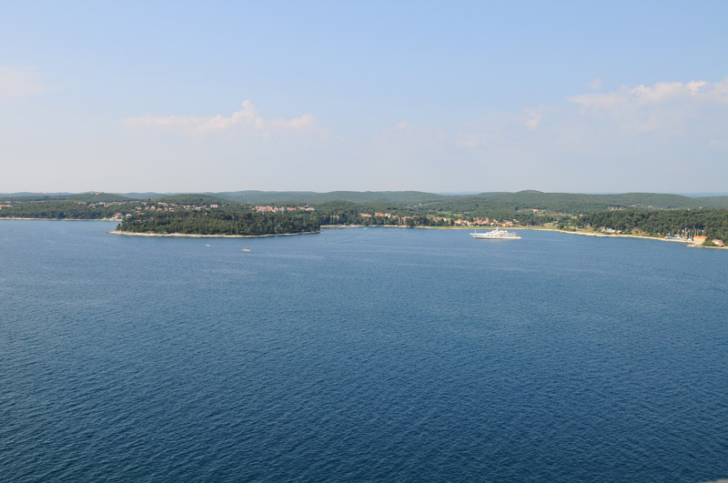 Фото 41. Море Ровиня с колокольни. Rovinj. Croatia