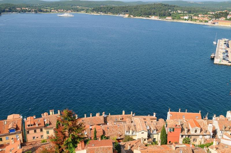 Фото 43. Море Ровиня с колокольни. Rovinj. Croatia