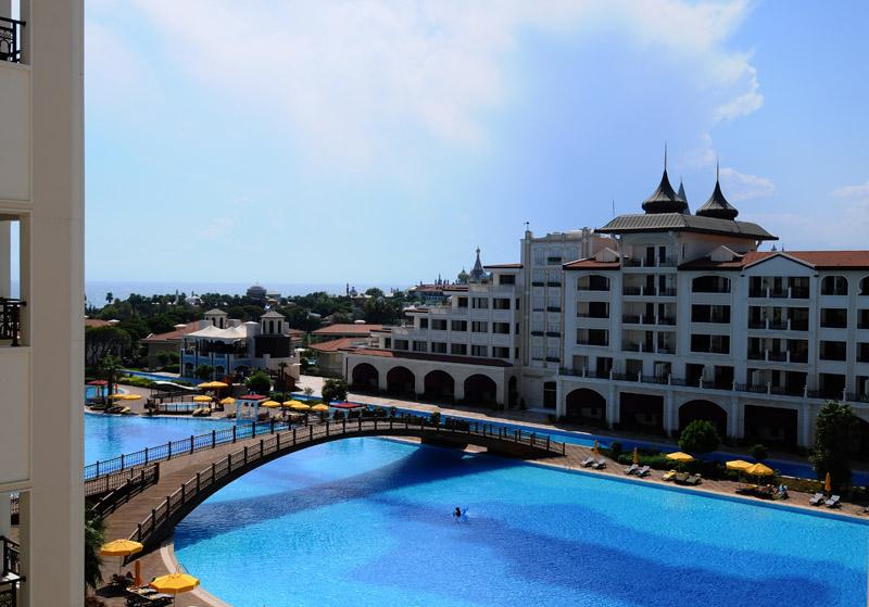 Мардан Палас. Вид из номера. Mardan Palace. View from Room. 47