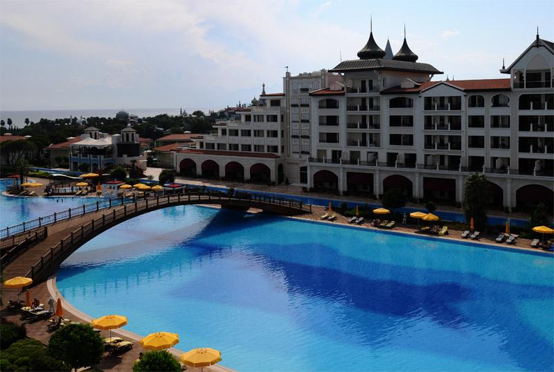 Мардан Палас. Вид из номера. Mardan Palace. View from Room. 51