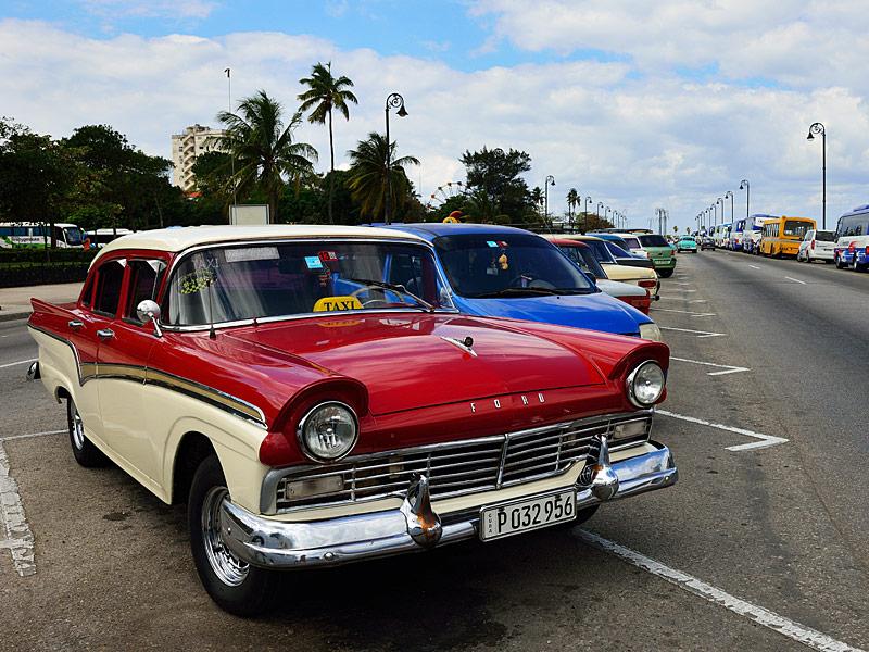 Куба. Ретро автомобили. Cuba. Retro Cars. 32