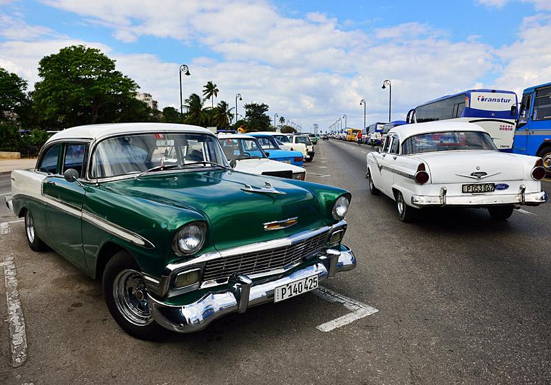 Куба. Ретро автомобили. Cuba. Retro Cars. 30