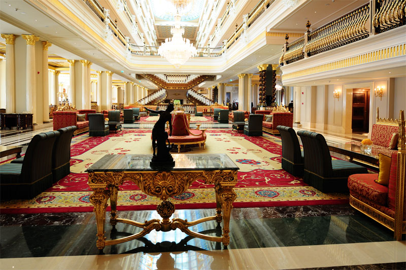 Мардан Палас. Лобби. Mardan Palace. 11