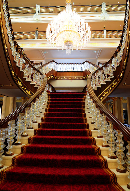 Мардан Палас. Лобби. Лестница. Mardan Palace. 21