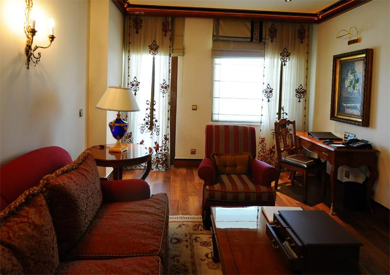 Мардан Палас. Интерьер номера. Mardan Palace. Room. 54