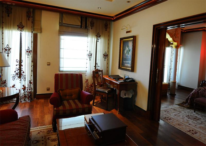 Мардан Палас. Интерьер номера. Mardan Palace. Room. 55