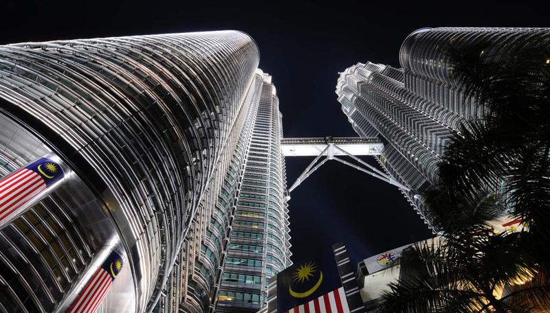 Петронасы ночью. Night Petronas. 3