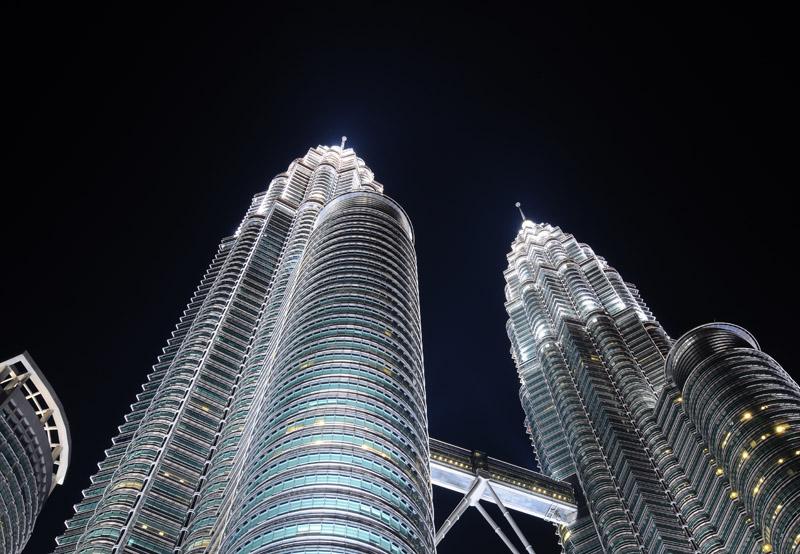 Петронасы ночью. Night Petronas. 6