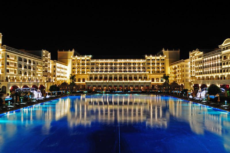 Мардан Палас ночью. Mardan Palace. 7