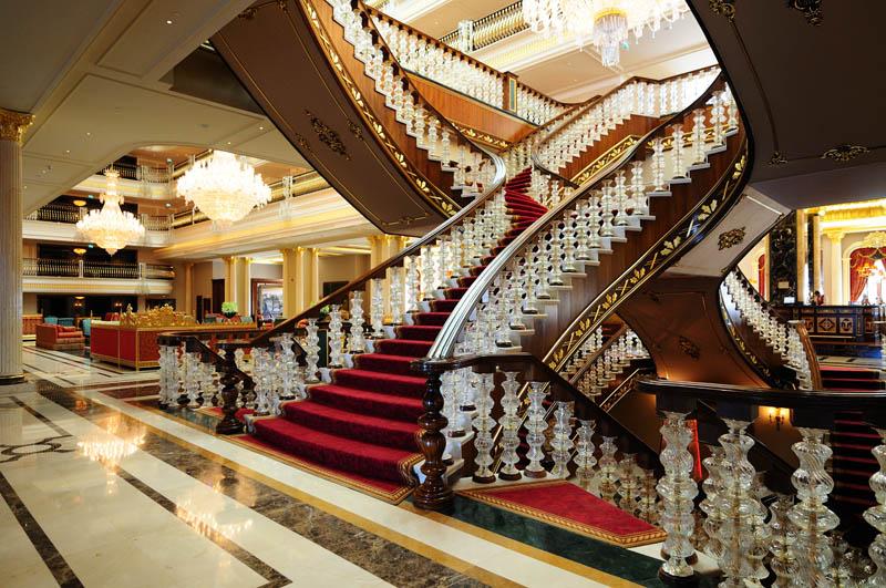 Мардан Палас. Лобби. Лестница. Mardan Palace. 20