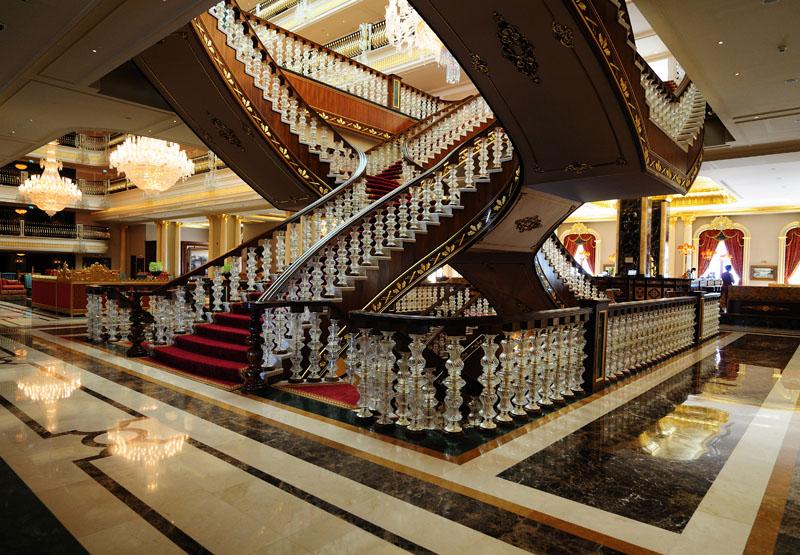 Мардан Палас. Лобби. Лестница. Mardan Palace. 17