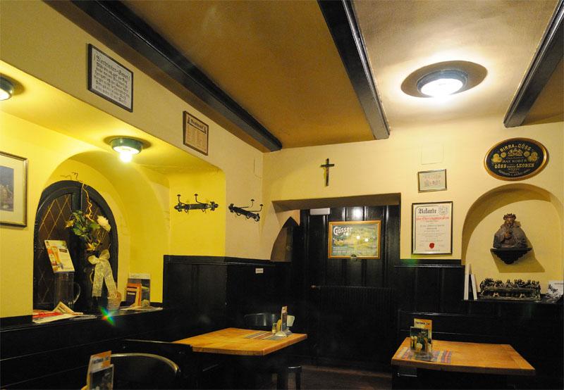 Вена. Пивной ресторан Бирклиник. Gosser Bierklinik. 5