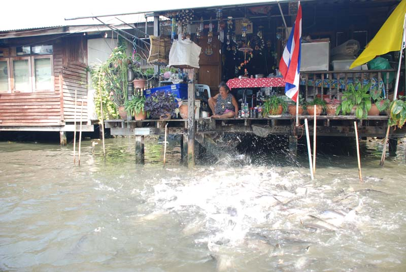 Бангкок. Речка. Bangkok. River.