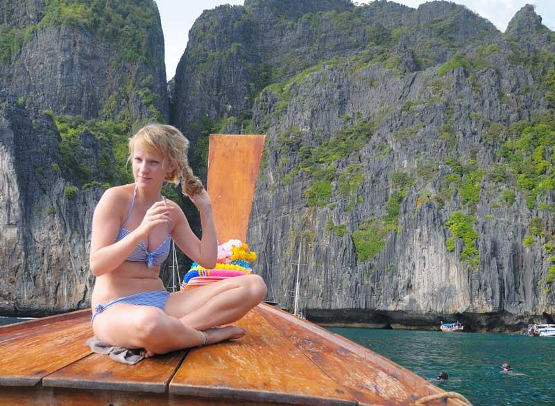 Пи-Пи Дон - Пи-Пи Ле. На лодке. Сноркелинг. 90