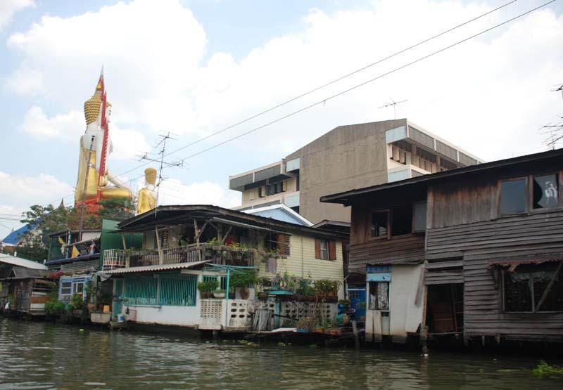 Бангкок. Речка. Bangkok. River