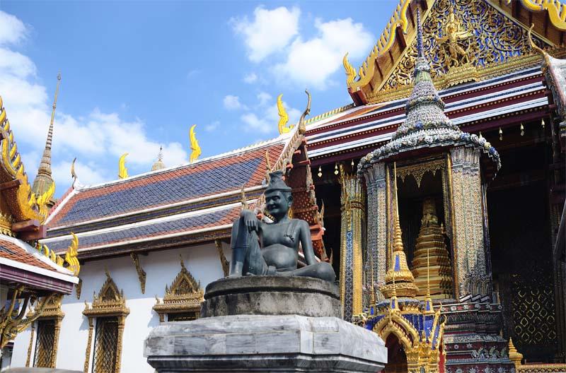 Бангкок. Большой Королевский дворец. Bangkok. King Palace
