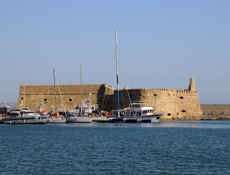 Поездка на Санторини. Крепость Фортеза. 10
