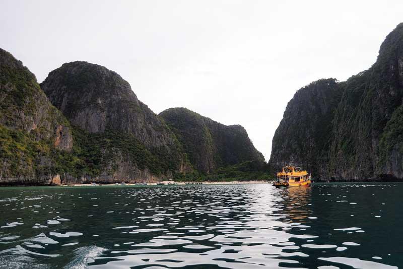 Пи-Пи Ле. Идём на лодке с острова Пи-Пи Дон. 151