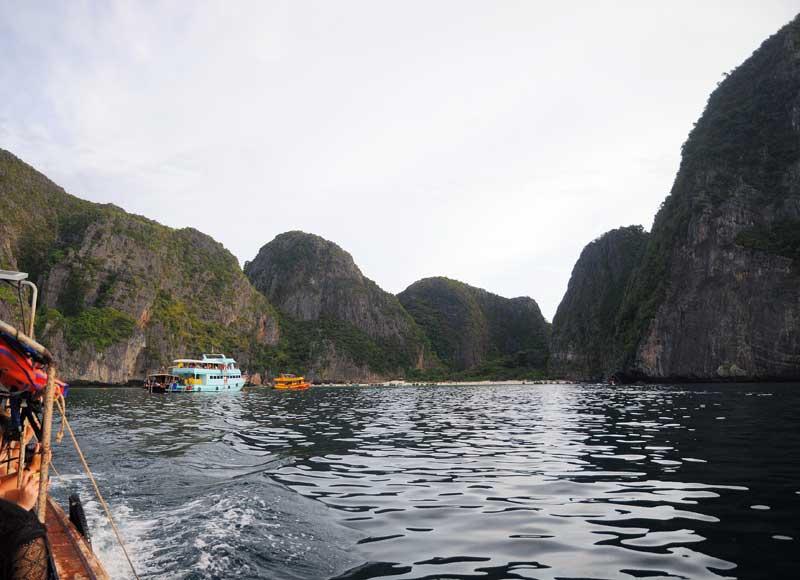 Пи-Пи Ле. Идём на лодке с острова Пи-Пи Дон. 153