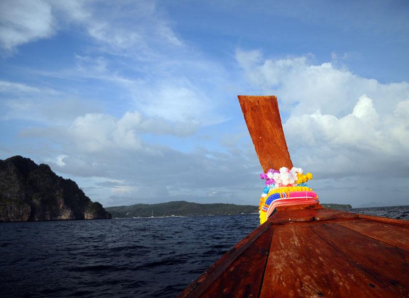 Пи-Пи Ле. Идём на лодке с острова Пи-Пи Дон. 174