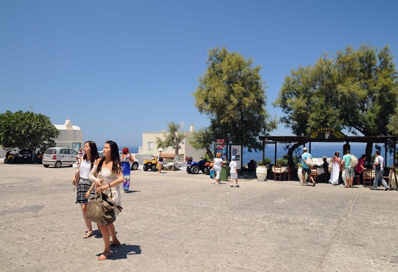 Санторини. Ия. Автостанция. Santorini. Oia. 60