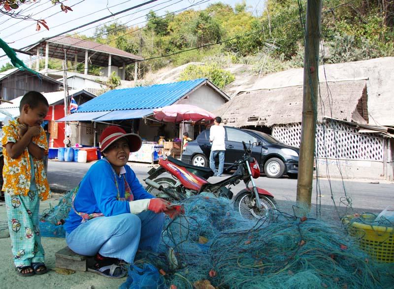 Хуа Хин. Рыбацкая деревня. Hua Hin. Fishing Village. 9.