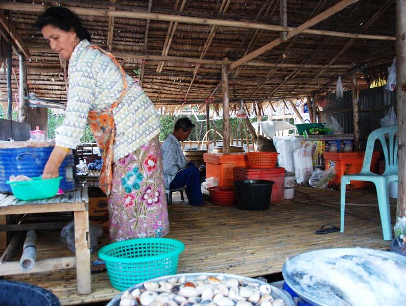 Хуа Хин. Рыбацкая деревня. Hua Hin. Fishing Market. 10.