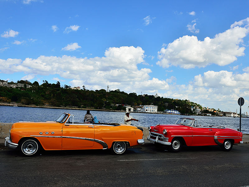 Куба. Ретро автомобили. Cuba. Retro Cars. 50