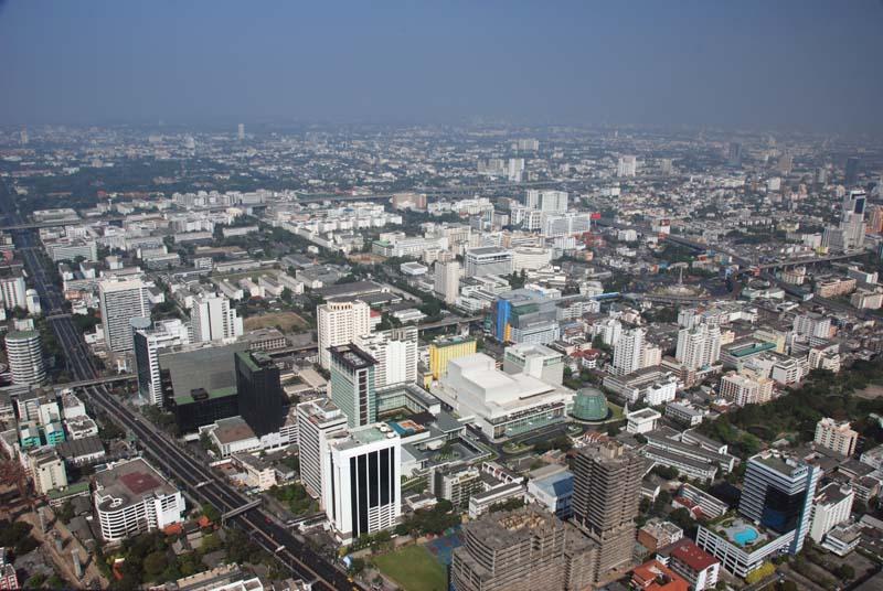 Бангкок с высоты 300м. Bangkok.