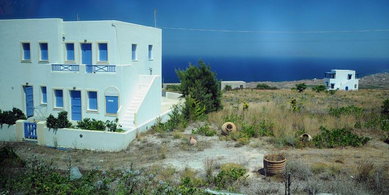 Санторини. Ия - Фира. Santorini. Oia - Fira. 183