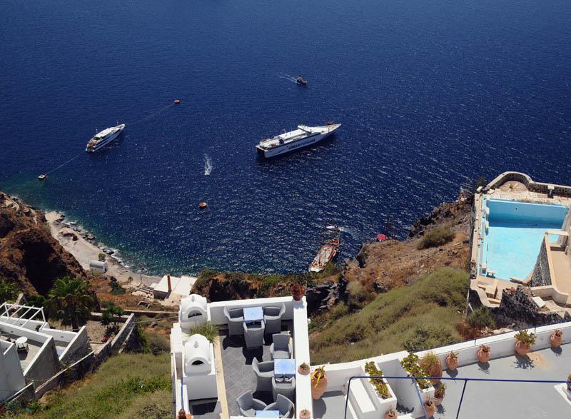 Санторини. Фира. Santorini. Fira. 209