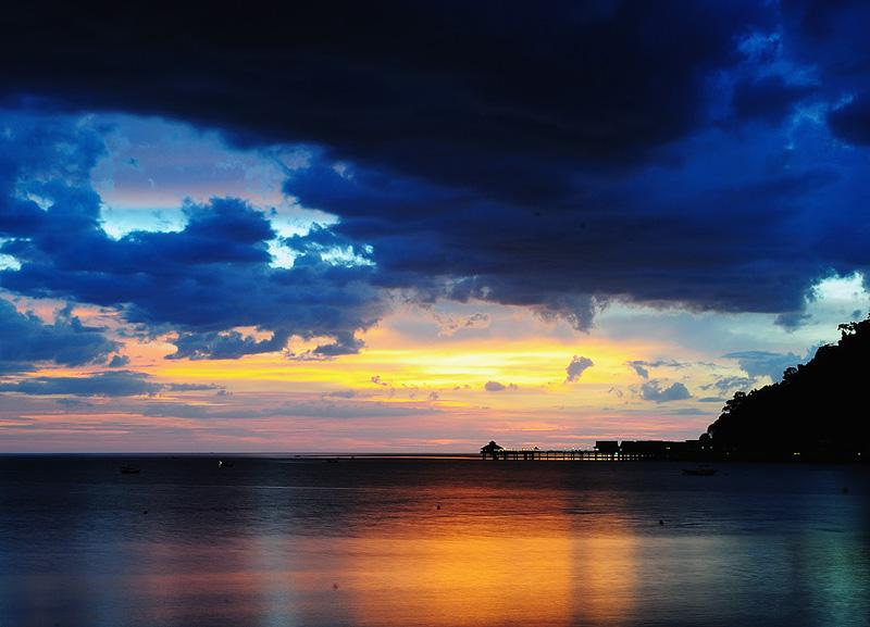 Закат на Лангкави. 1