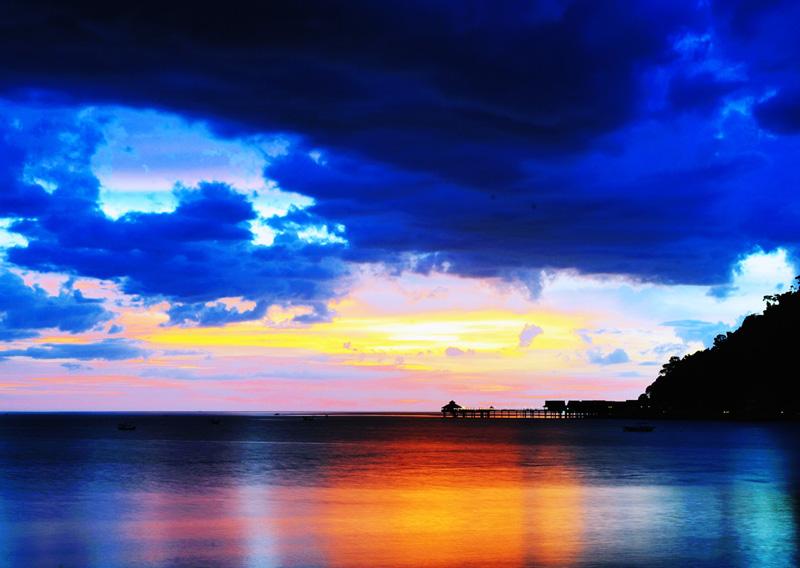 Закат на Лангкави. 2