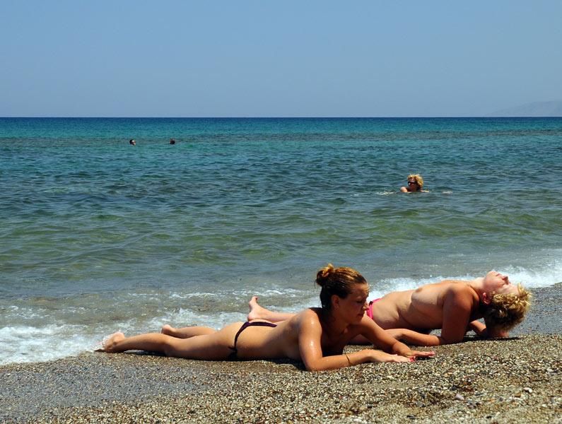 Крит. Херсониссос. Пляжи. 49