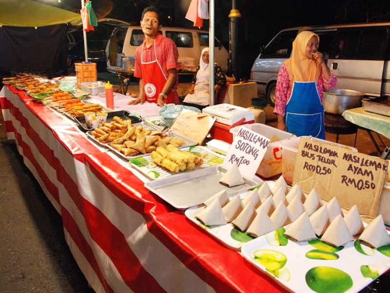 Лангкави. Ночной рынок. Langkawi. Night Market.