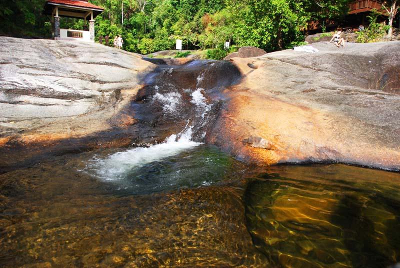 Лангкави. Водопады. Langkawi. Waterfall.