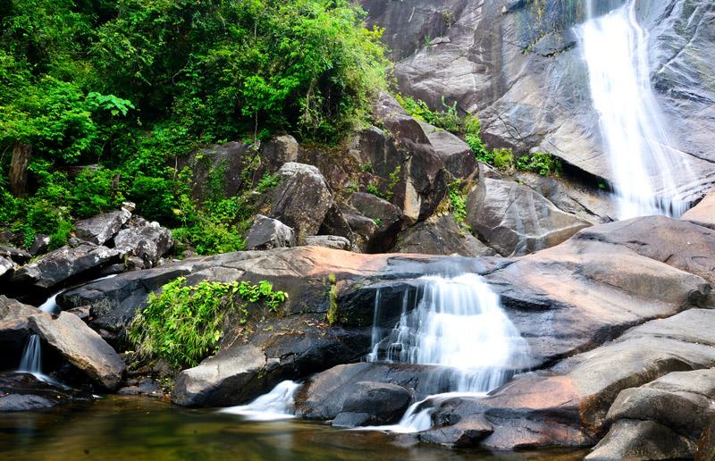 Лангкави. Водопад Темурун.