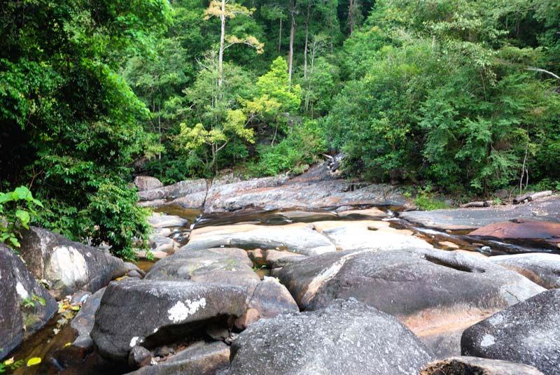 Лангкави. Водопад 7 родников. Langkawi. Waterfall Seven Wells.