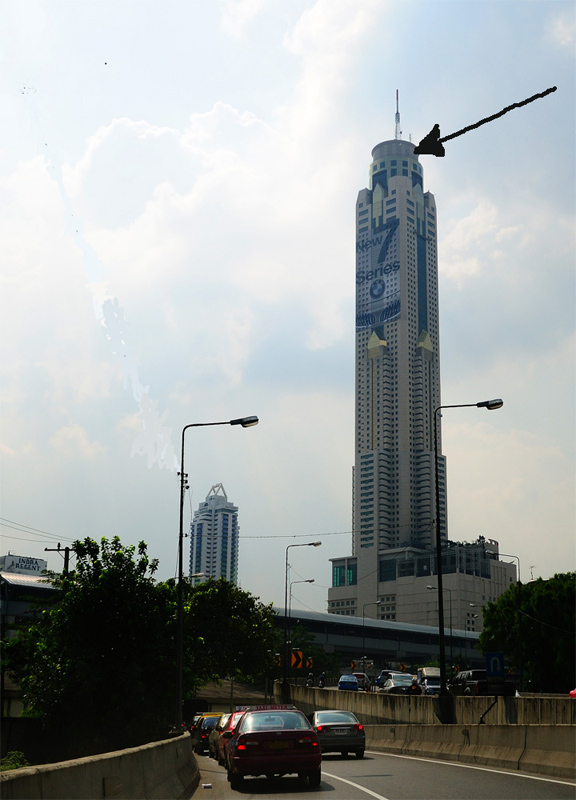 Бангкок. Байоке Скай. Bangkok. Bajioke Sky. 2