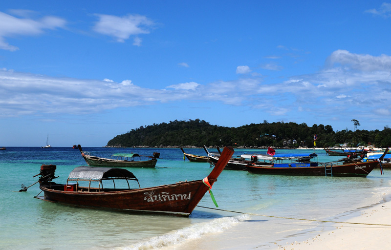 Ко Липе. Пляж Паттайя. Ko Lipe. Pattaya Beach. 6