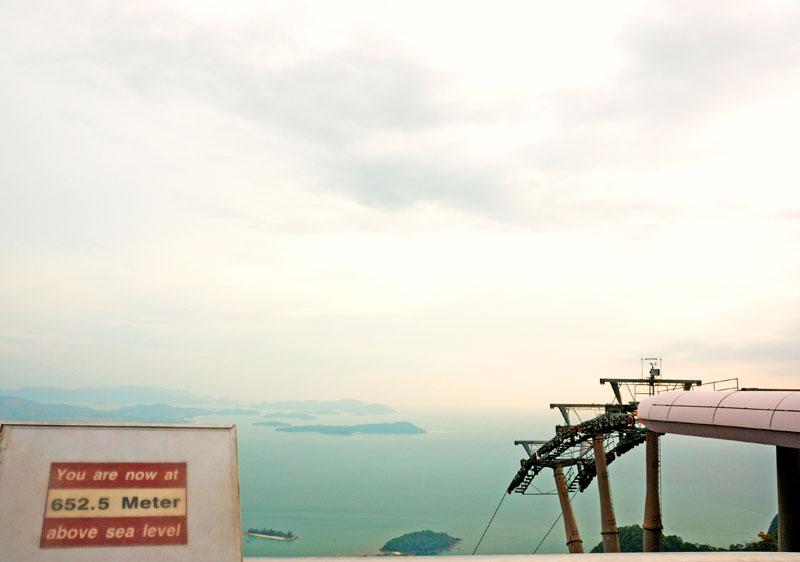 Лангкави. Канатная дорога. Langkawi. Cable Car.