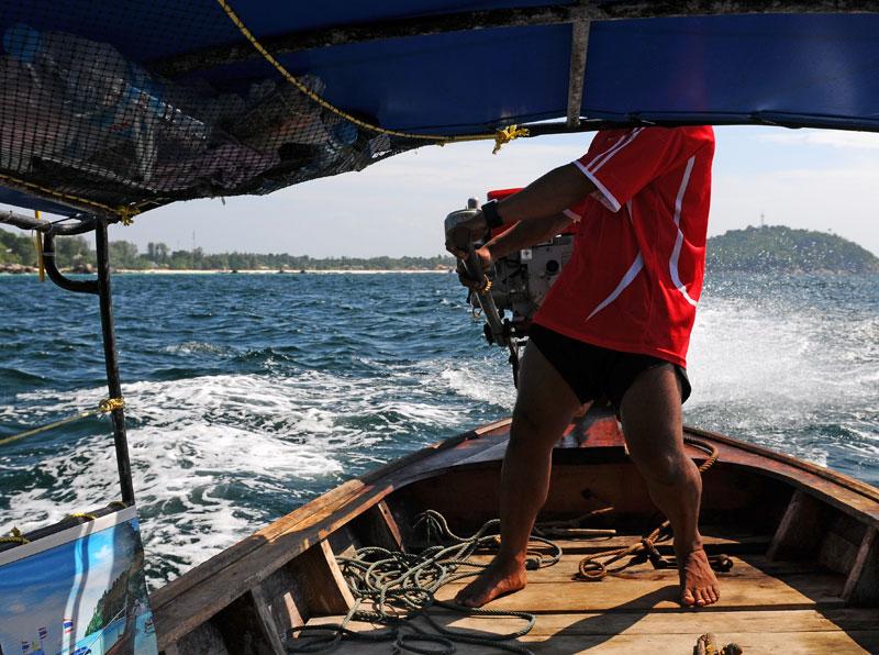 Идём на остров Ко Аданг с Ко Липе. 32